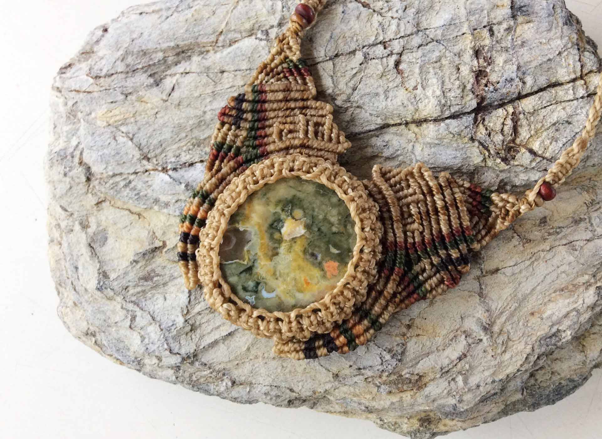 The Ai & The Fly Rhyolite Necklace